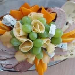 Półmisek mix mięs pieczystych i serów 1kg